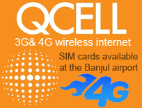 Qcell connexion 3G en Gambie